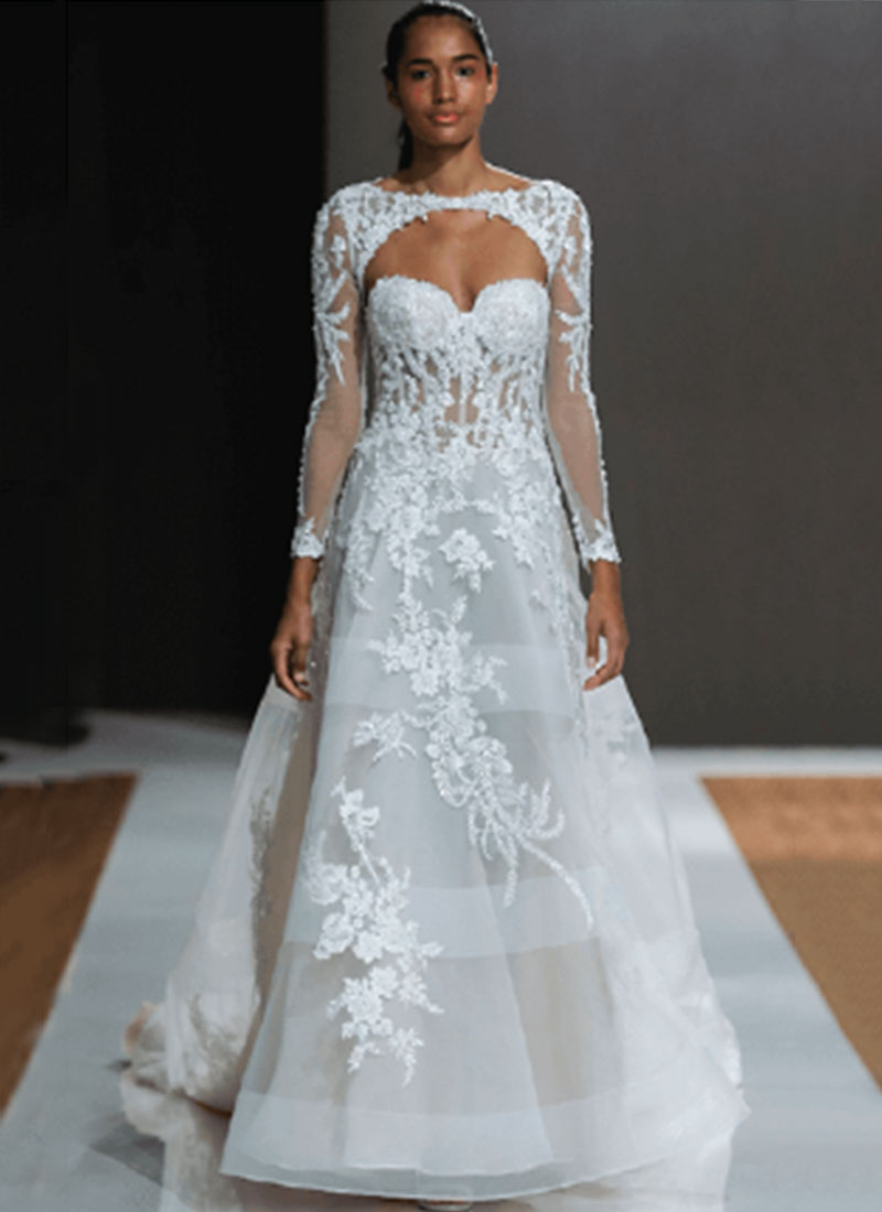 Designers - bridal gowns from Hayley Paige, Matthew Christopher ...