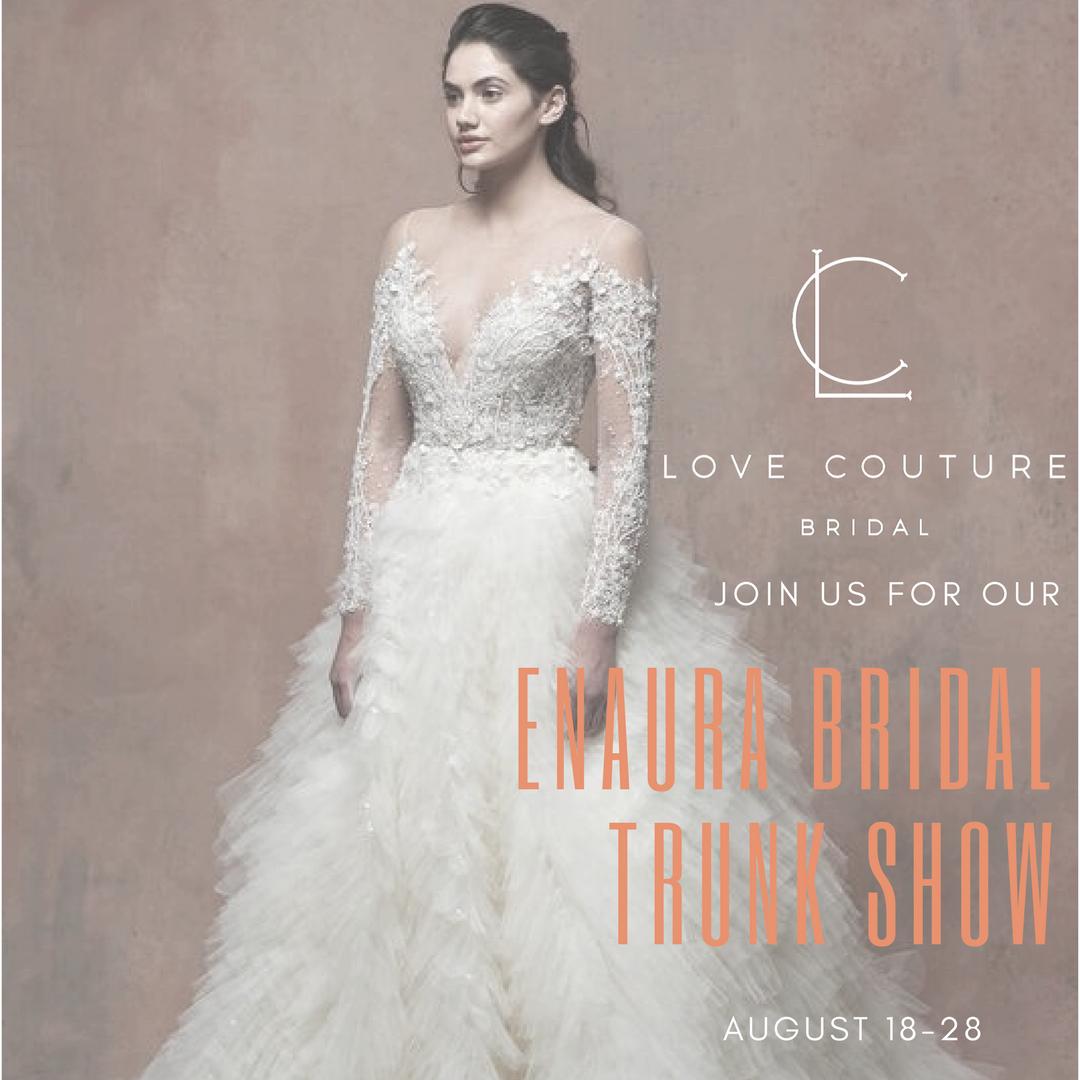 Enaura Bridal Trunk Show