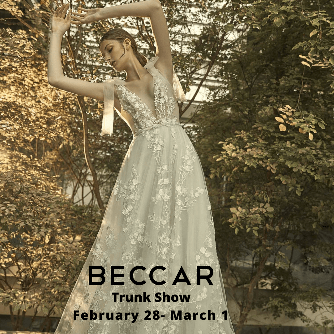 Beccar Trunk Show at Love Couture Bridal